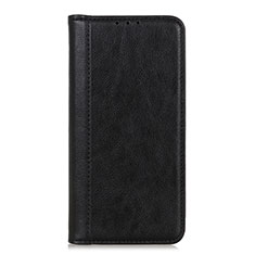 Custodia Portafoglio In Pelle Cover con Supporto L07 per LG K52 Nero