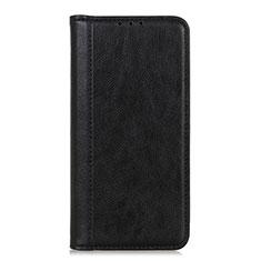 Custodia Portafoglio In Pelle Cover con Supporto L07 per LG Q52 Nero
