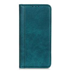 Custodia Portafoglio In Pelle Cover con Supporto L07 per LG Q52 Verde