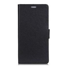 Custodia Portafoglio In Pelle Cover con Supporto L08 per Asus Zenfone 5 ZE620KL Nero