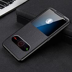Custodia Portafoglio In Pelle Cover con Supporto L08 per Huawei Honor 30 Nero