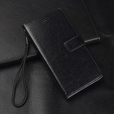 Custodia Portafoglio In Pelle Cover con Supporto L08 per Huawei Mate 20 Lite Nero