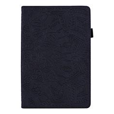 Custodia Portafoglio In Pelle Cover con Supporto L08 per Huawei MediaPad M6 8.4 Nero