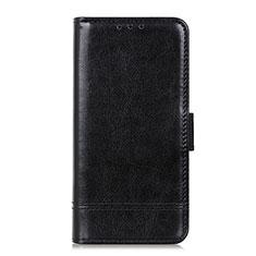 Custodia Portafoglio In Pelle Cover con Supporto L08 per Huawei Y6p Nero