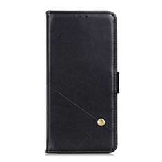 Custodia Portafoglio In Pelle Cover con Supporto L08 per LG K62 Nero