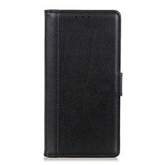 Custodia Portafoglio In Pelle Cover con Supporto L08 per OnePlus 7T Pro Nero