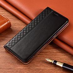 Custodia Portafoglio In Pelle Cover con Supporto L08 per Xiaomi Poco X3 NFC Nero