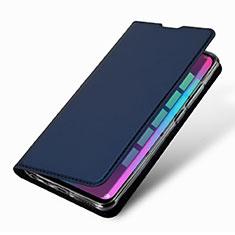 Custodia Portafoglio In Pelle Cover con Supporto L09 per Huawei Honor 10 Lite Blu