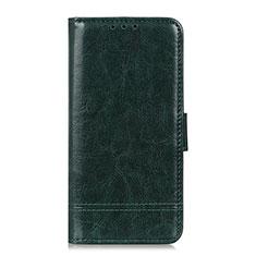 Custodia Portafoglio In Pelle Cover con Supporto L09 per Huawei Y5p Verde