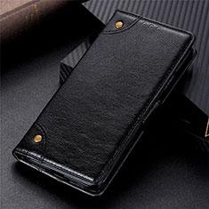 Custodia Portafoglio In Pelle Cover con Supporto L09 per Huawei Y8s Nero