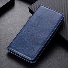 Custodia Portafoglio In Pelle Cover con Supporto L09 per Motorola Moto G 5G Blu
