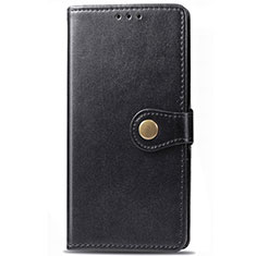Custodia Portafoglio In Pelle Cover con Supporto L09 per Samsung Galaxy M21s Nero