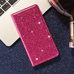 Custodia Portafoglio In Pelle Cover con Supporto L09 per Samsung Galaxy S20 Plus 5G Rosso