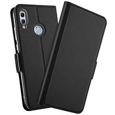 Custodia Portafoglio In Pelle Cover con Supporto L10 per Huawei Honor 10 Lite Nero
