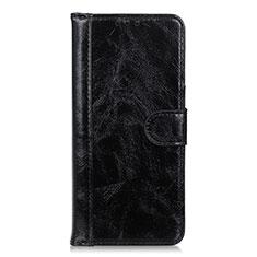 Custodia Portafoglio In Pelle Cover con Supporto L10 per Realme X7 Pro 5G Nero