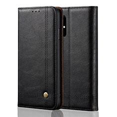 Custodia Portafoglio In Pelle Cover con Supporto L10 per Samsung Galaxy A51 5G Nero