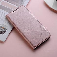 Custodia Portafoglio In Pelle Cover con Supporto L11 per Huawei Honor 10 Lite Oro Rosa