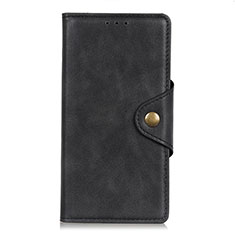 Custodia Portafoglio In Pelle Cover con Supporto L11 per LG K92 5G Nero