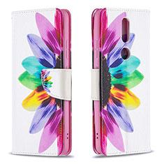 Custodia Portafoglio In Pelle Cover con Supporto L11 per Nokia 2.4 Colorato