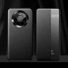 Custodia Portafoglio In Pelle Cover con Supporto L12 per Huawei Mate 40 Pro+ Plus Nero