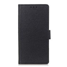Custodia Portafoglio In Pelle Cover con Supporto L18 per Huawei P40 Lite Nero