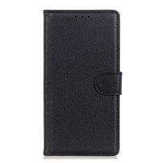 Custodia Portafoglio In Pelle Cover con Supporto N04 per Huawei P40 Nero