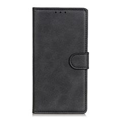 Custodia Portafoglio In Pelle Cover con Supporto N06 per Huawei P40 Nero