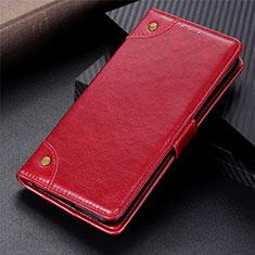 Custodia Portafoglio In Pelle Cover con Supporto N10 per Samsung Galaxy Note 20 Ultra 5G Rosso