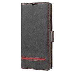 Custodia Portafoglio In Pelle Cover con Supporto N11 per Samsung Galaxy Note 20 5G Nero