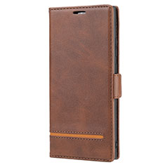 Custodia Portafoglio In Pelle Cover con Supporto N11 per Samsung Galaxy Note 20 Ultra 5G Marrone