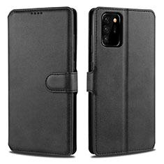 Custodia Portafoglio In Pelle Cover con Supporto N12 per Samsung Galaxy Note 20 Ultra 5G Nero