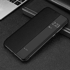 Custodia Portafoglio In Pelle Cover con Supporto P01 per Huawei Mate 20 Lite Nero