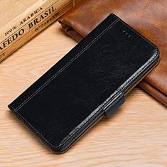 Custodia Portafoglio In Pelle Cover con Supporto P01 per Huawei P30 Lite Nero