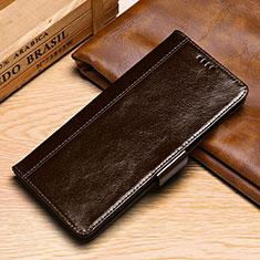 Custodia Portafoglio In Pelle Cover con Supporto P01 per Samsung Galaxy S10e Marrone