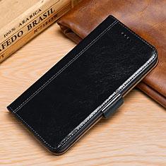 Custodia Portafoglio In Pelle Cover con Supporto P01 per Samsung Galaxy S9 Nero