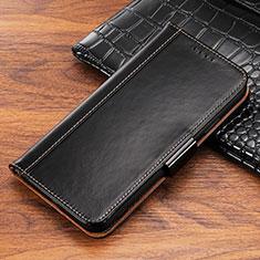 Custodia Portafoglio In Pelle Cover con Supporto P04 per Apple iPhone Xs Nero