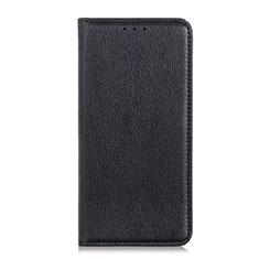 Custodia Portafoglio In Pelle Cover con Supporto per Alcatel 3L Nero