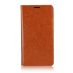 Custodia Portafoglio In Pelle Cover con Supporto per Asus Zenfone 2 Laser 6.0 ZE601KL Arancione