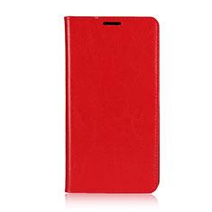 Custodia Portafoglio In Pelle Cover con Supporto per Asus Zenfone 2 Laser 6.0 ZE601KL Rosso