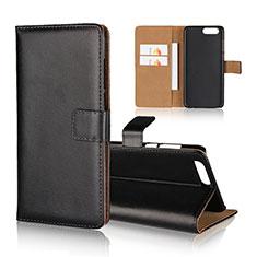 Custodia Portafoglio In Pelle Cover con Supporto per Asus Zenfone 4 ZE554KL Nero