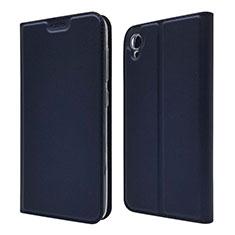 Custodia Portafoglio In Pelle Cover con Supporto per Asus ZenFone Live L1 ZA550KL Blu
