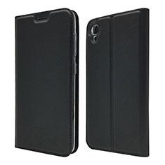 Custodia Portafoglio In Pelle Cover con Supporto per Asus ZenFone Live L1 ZA550KL Nero