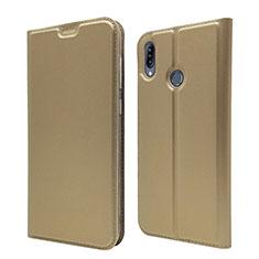 Custodia Portafoglio In Pelle Cover con Supporto per Asus Zenfone Max M2 ZB633KL Oro