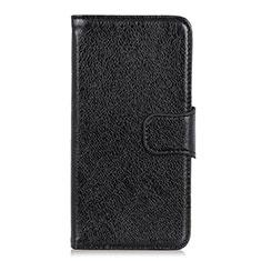 Custodia Portafoglio In Pelle Cover con Supporto per HTC Desire 19 Plus Nero