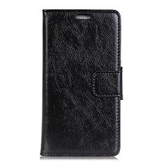 Custodia Portafoglio In Pelle Cover con Supporto per HTC U12 Plus Nero