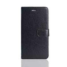 Custodia Portafoglio In Pelle Cover con Supporto per Huawei Enjoy 8e Lite Nero