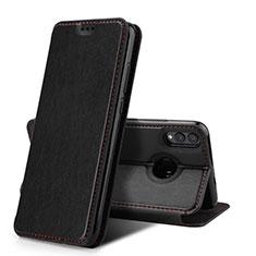 Custodia Portafoglio In Pelle Cover con Supporto per Huawei Honor 8X Nero
