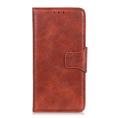 Custodia Portafoglio In Pelle Cover con Supporto per Huawei Honor 9X Lite Marrone