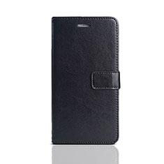 Custodia Portafoglio In Pelle Cover con Supporto per Huawei Honor Play 7 Nero