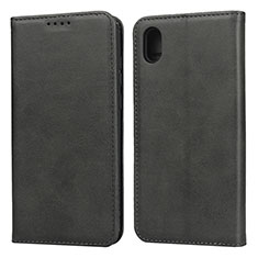 Custodia Portafoglio In Pelle Cover con Supporto per Huawei Honor Play 8 Nero